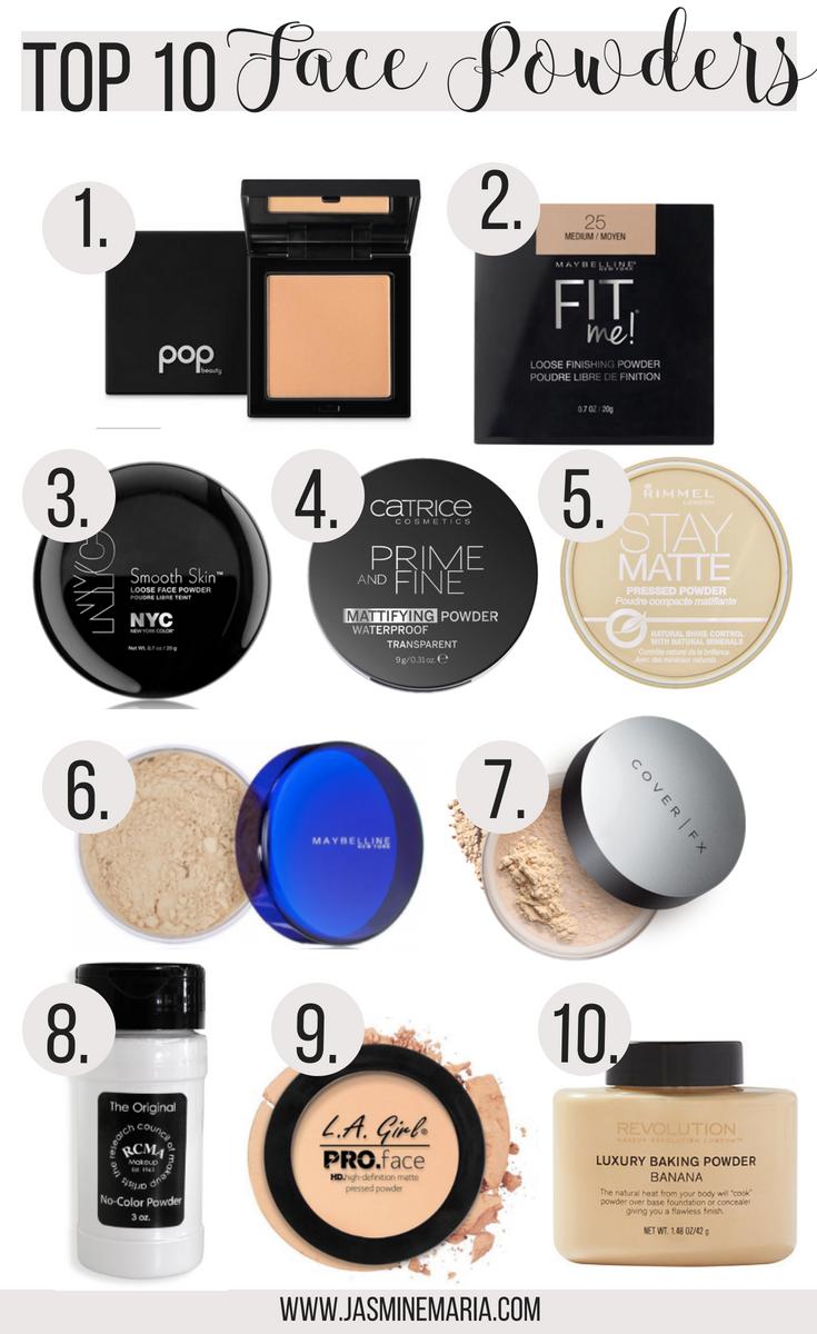 Best Face Powders Powder Makeup Face Powder Setting Powder