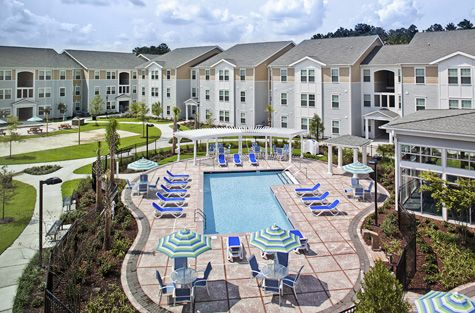 Coastal Carolina University Tuition >> Student Dorms Pool The Cove At Coastal Carolina Coastal
