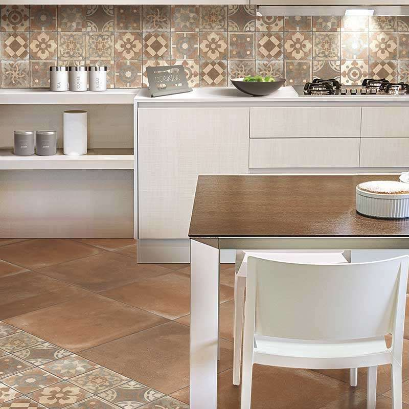Arredare la cucina con le piastrelle cementine nel 2020