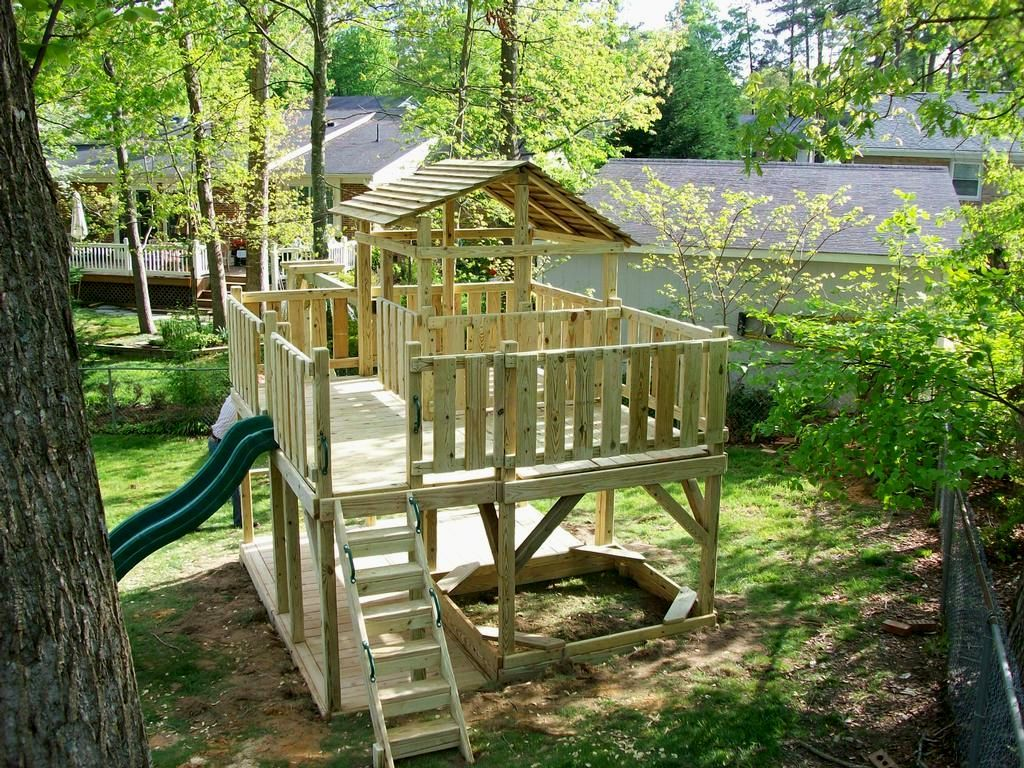 set on a slope tallahassee swing sets by design custom built