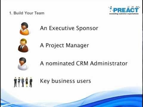 Presenting 11 steps to plan a CRM project from our CRM Consultant and Project Manager, Iain Wicks. This includes advice for user acceptance, data import and process mapping