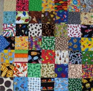 Fabric for 'I Spy' quilt by ksrose