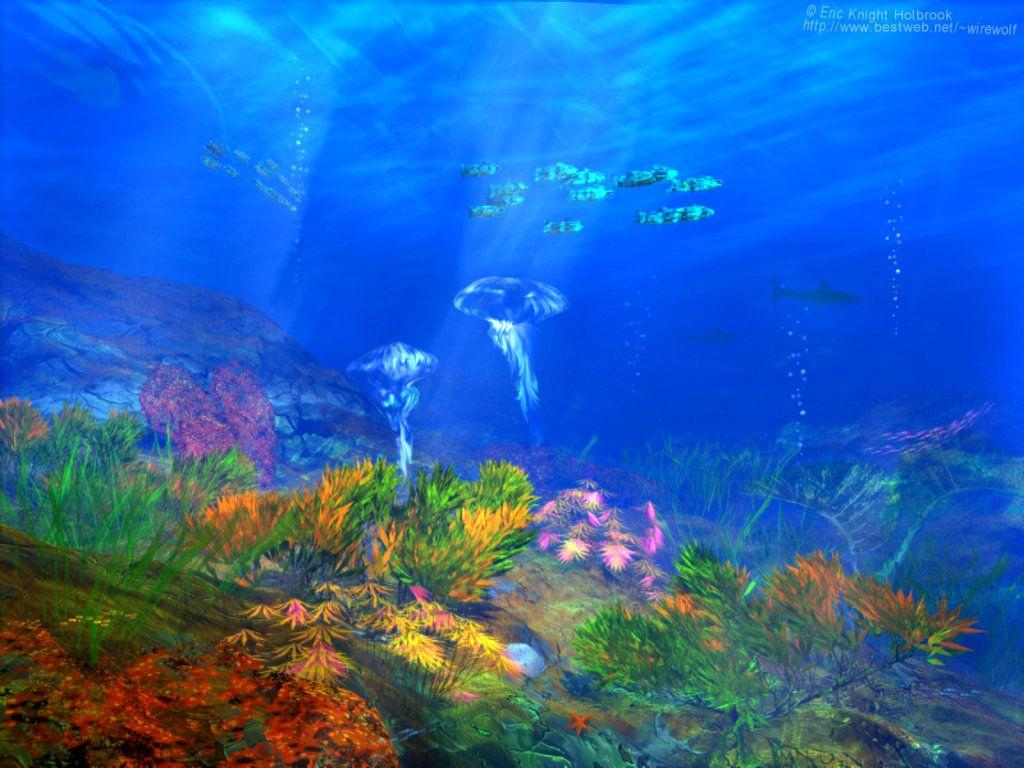 Ocean Fond Ecran 3d Ocean Wallpaper 3d Ocean