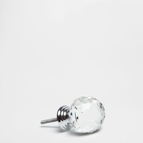 Crystal Knob Set Of 2