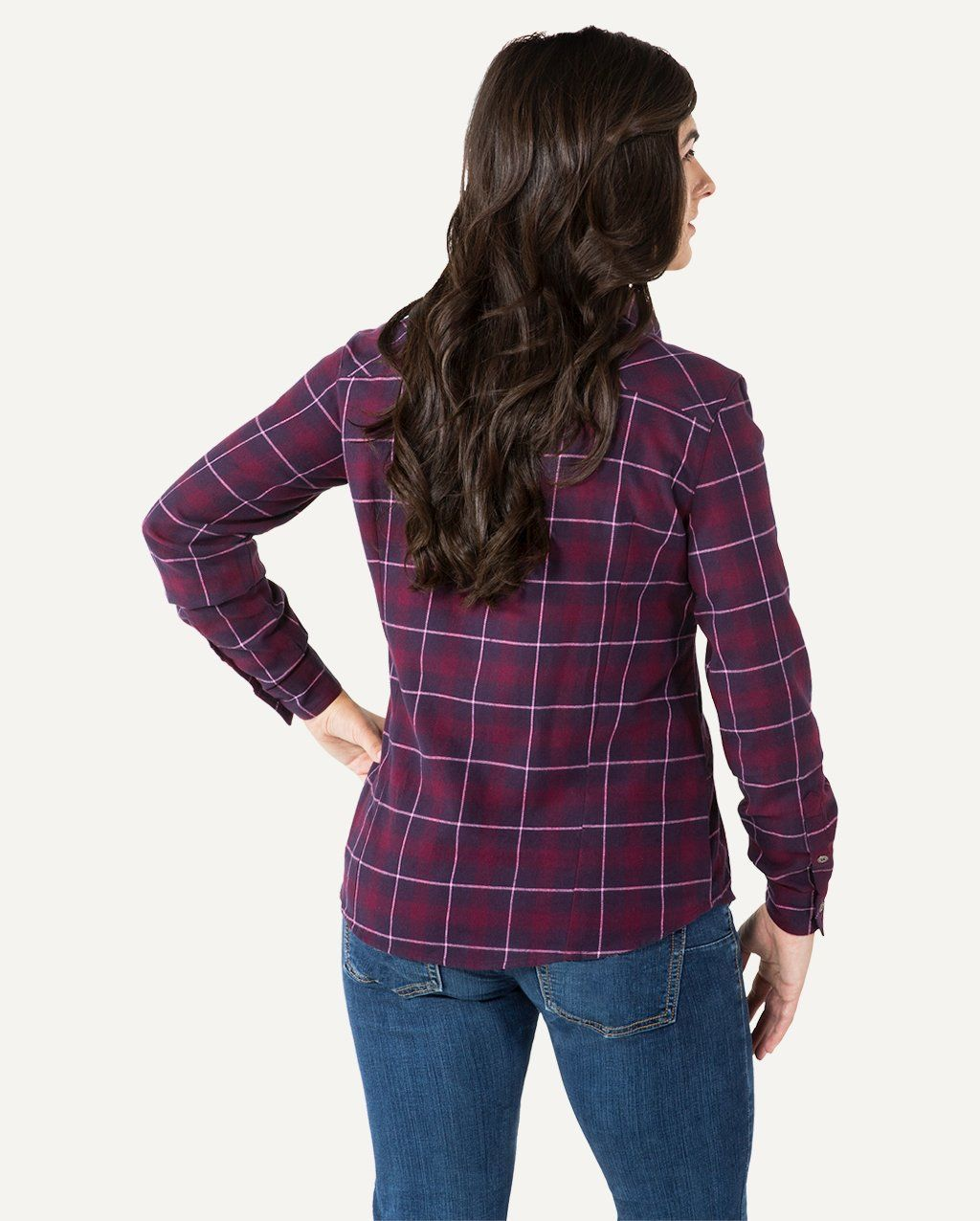 48d1813157 A cool weather staple that is as stylish as is cozy  the Downtown Flannel  Shirt