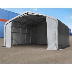 Photo of Zeltgarage 6x6m mit 4,1×2,9m Tor, Pvc 550 g/m² Garagenzelt Toolport