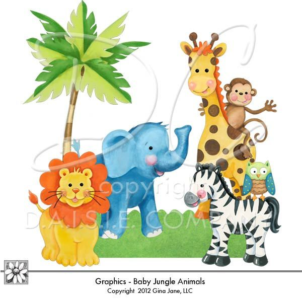 photograph about Free Printable Baby Safari Animals titled Free of charge+Printable+Little one+Jungle+Pets graphics child jungle