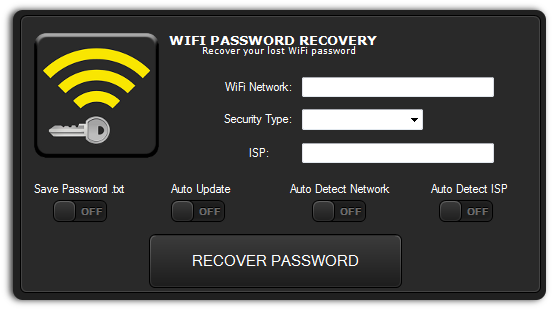 Free wifi password recovery download