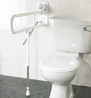 Toilet safety products seats grab bars and seats with - Handicap bars for bathroom toilet ...