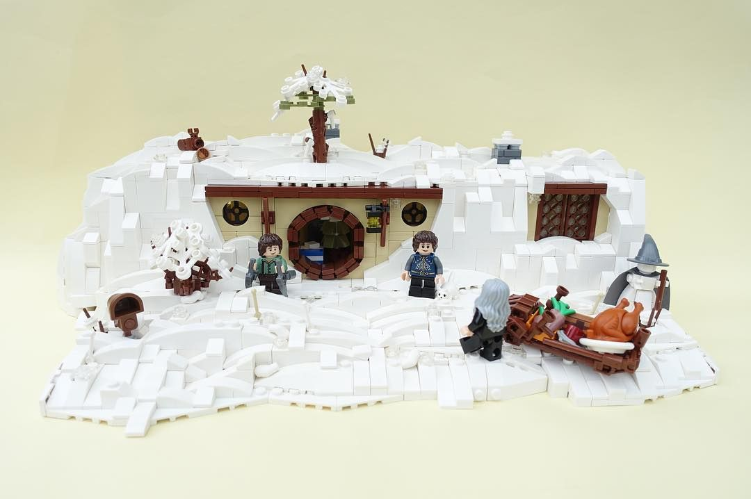 Pin By Hans Hock On Lego Lotrs Christmas Carol Lego Christmas