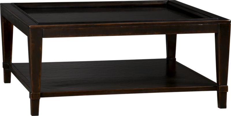 Hudson Square Coffee Table in Accent Tables | Crate and ...