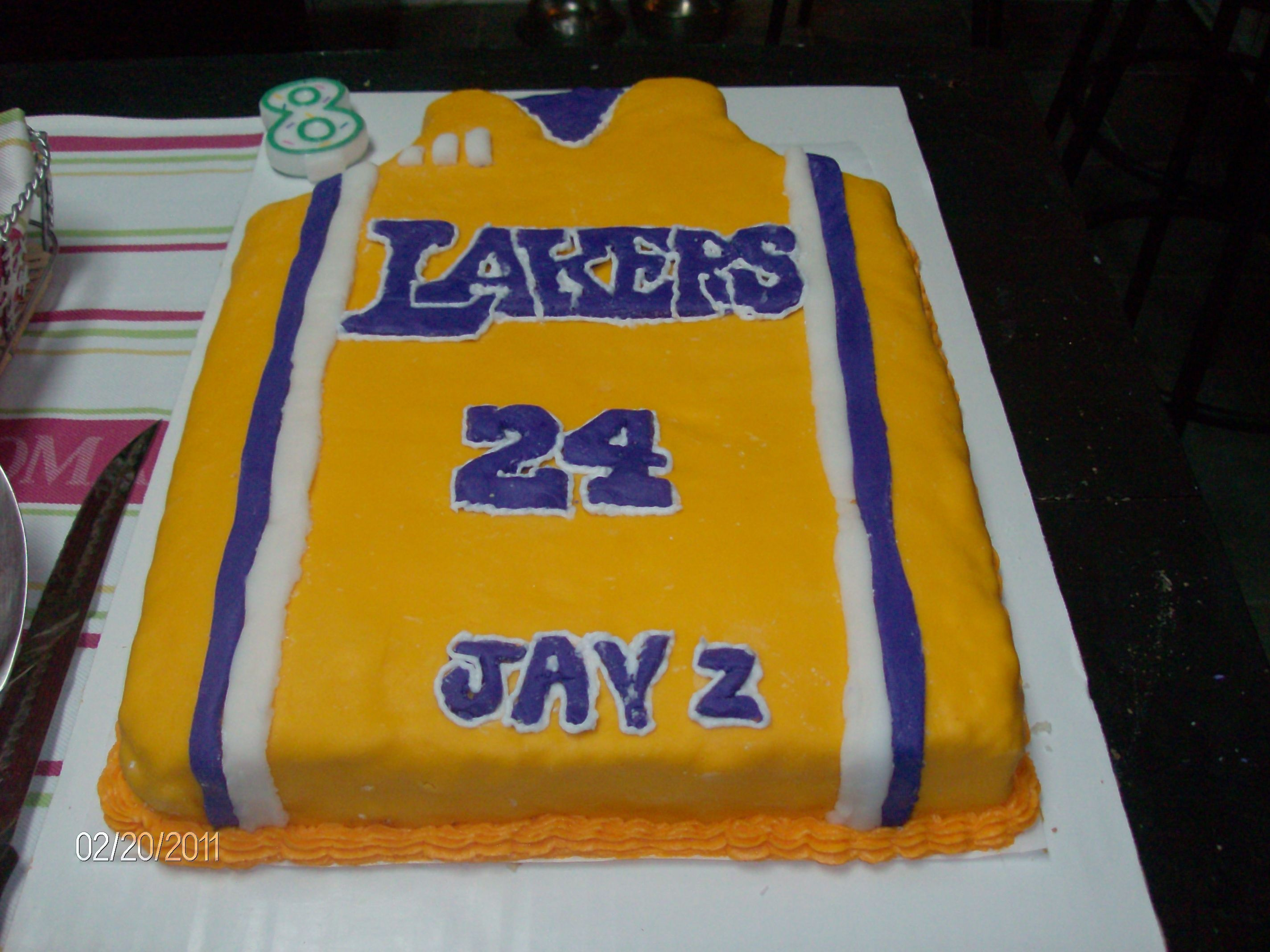 Jaylen\'s Lakers cake | cakes to create or created by me | Pinterest ...