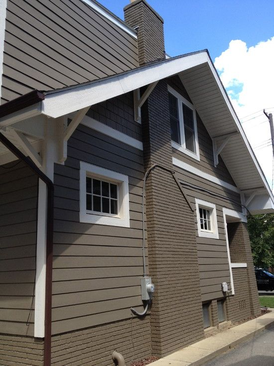 Timber bark painted chimney steenlage 2nd story for Bark house siding