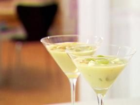 White Gazpacho with Grapes and Almonds