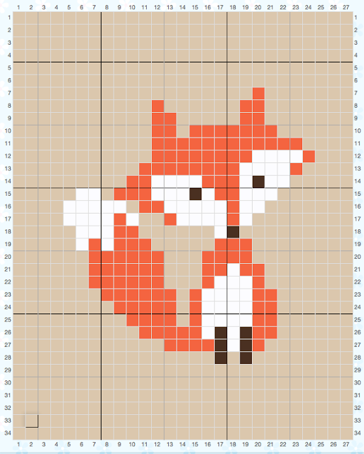 Photo of How to Cross Stitch on Crochet & Parker's Fox Pillow • Sewrella
