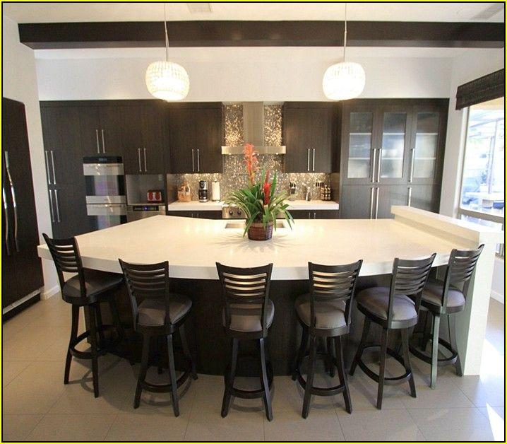 kitchen islands with seating for 6 kitchen island with seating curved kitchen island kitchen on kitchen island ideas organization id=66945