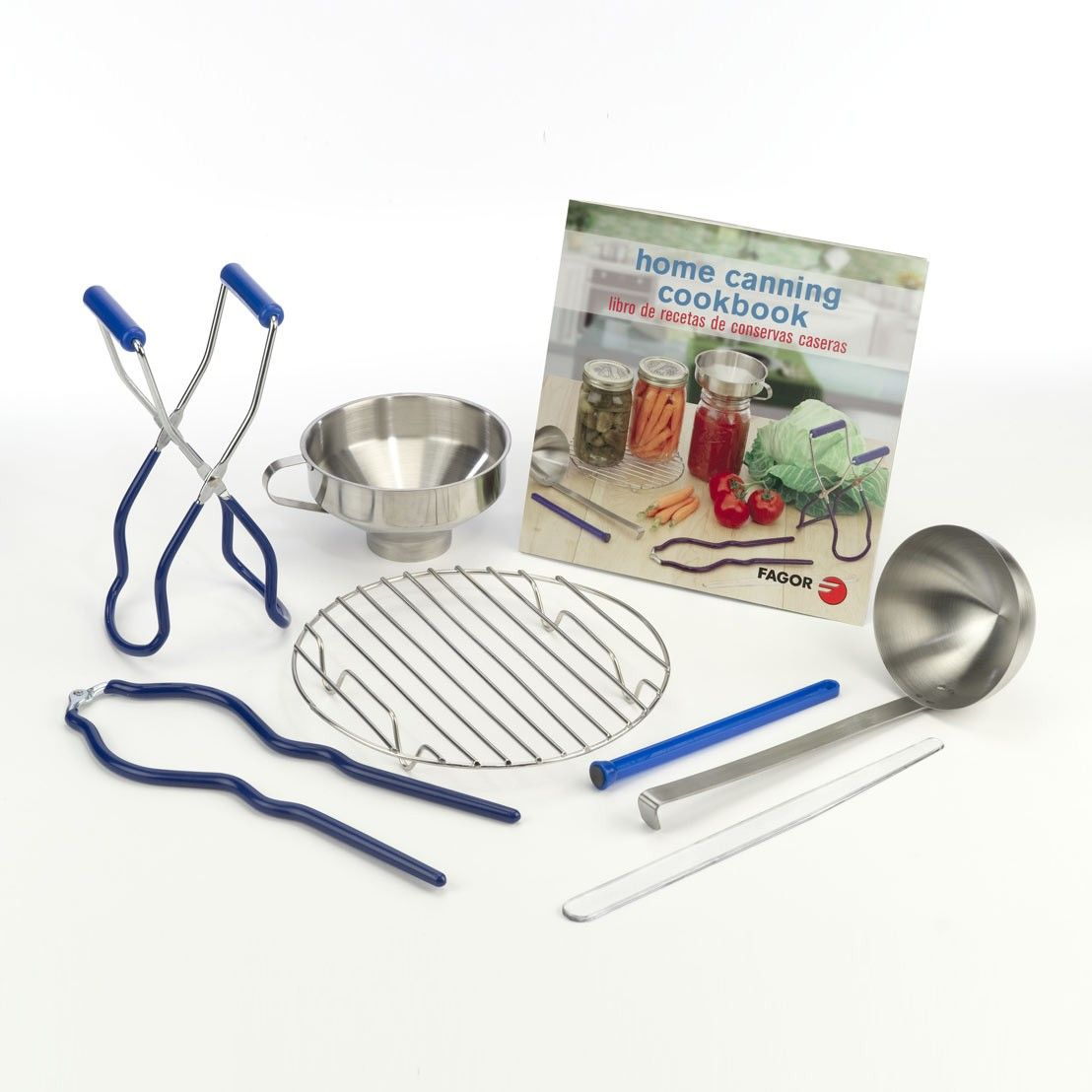 Fagor home canning kit canning freezing dehydrating tips