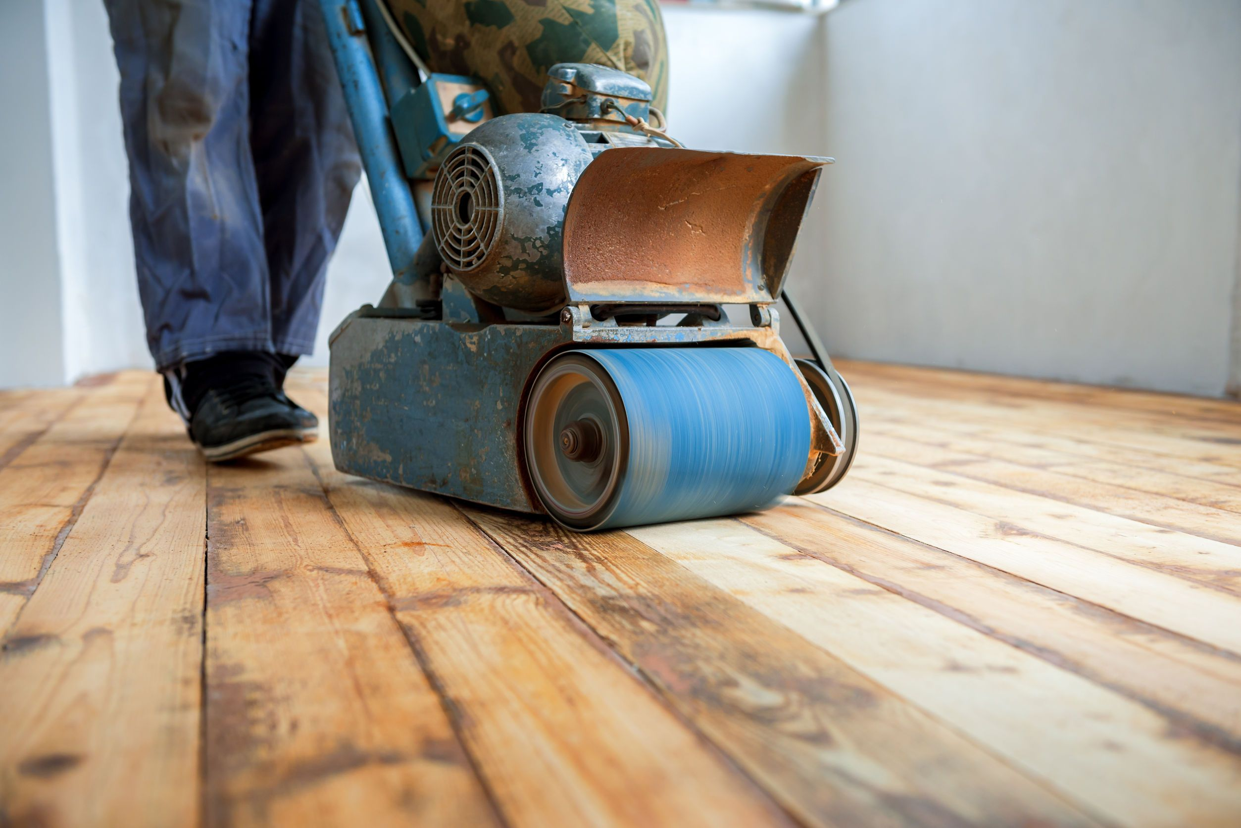 How To Sand Wood Floors Like A