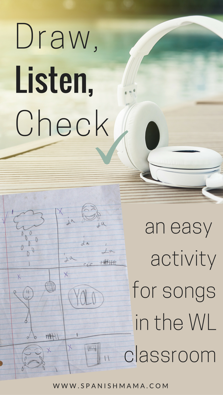 An Easy-Peasy Activity to Learn Spanish with Songs | Edgy Educator