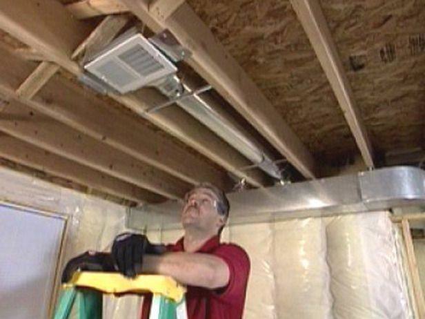 Air Supply Line And A Cold Return, Return Air Vents In Basement
