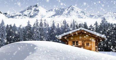 fotobehang winterlandschap #56085030 nikkel-art.nl