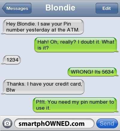 Fail Pin Number – – Autocorrect Fails and Funny Text Messages – SmartphOWNED mob…