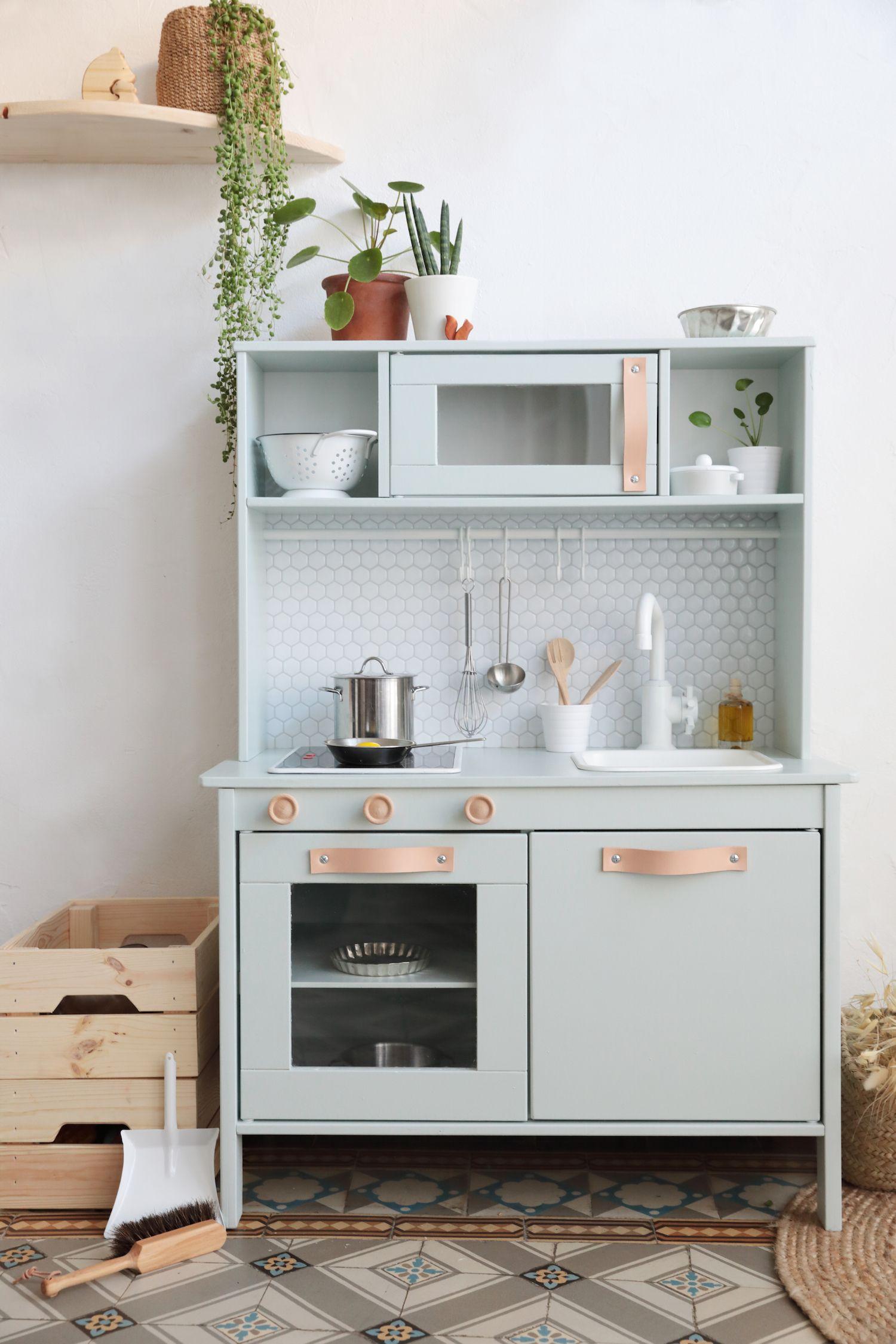 Ikea Hack : comment relooker la cuisine pour enfant Duktig ? | Ikea ...