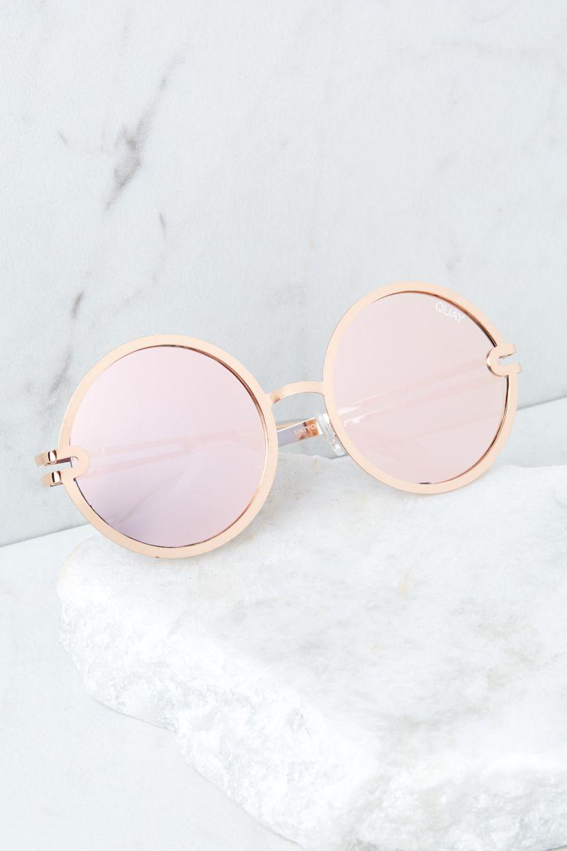 911e807cc2ee1 Quay Australia Ukiyo Rose Gold Sunglasses