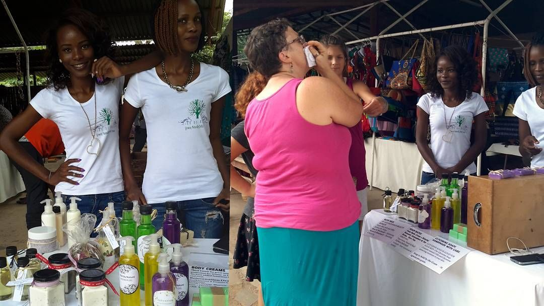 TiEd by Nature at the Dutchmarket.. #naturalproducts #skincare #healthyskin #happycustomers #tiedbynature #crafted #bodyproducts by tied_by_nature