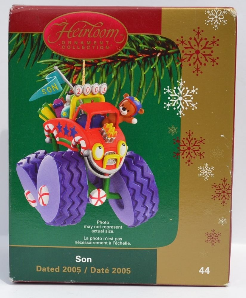 New carlton cards american greetings 2005 son heirloom christmas new carlton cards american greetings 2005 son heirloom christmas ornament m4hsunfo Image collections