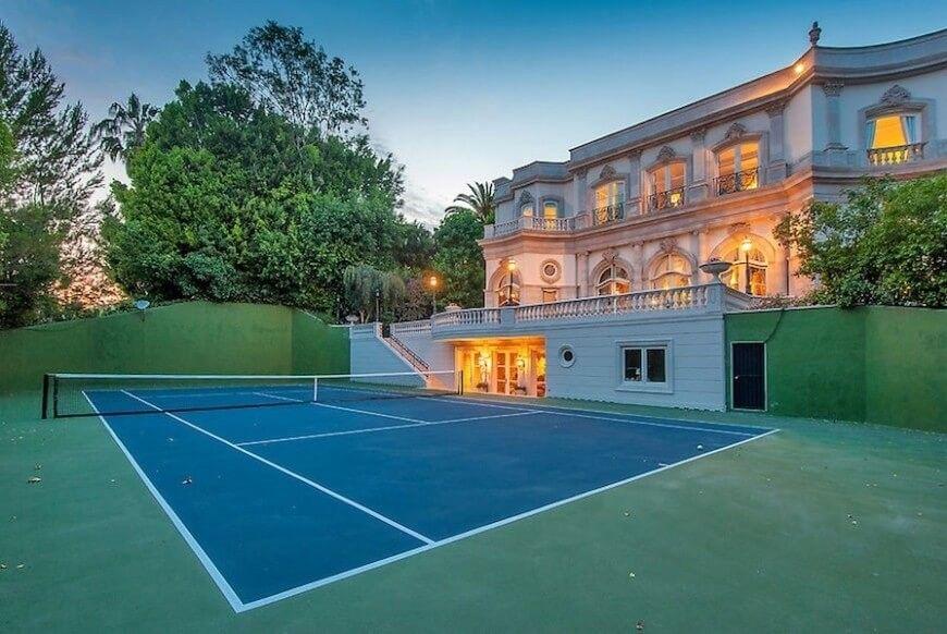 Wenn Sie ungleiche haben bauen Landschaftsbau Sie einen Tennisplatz ...