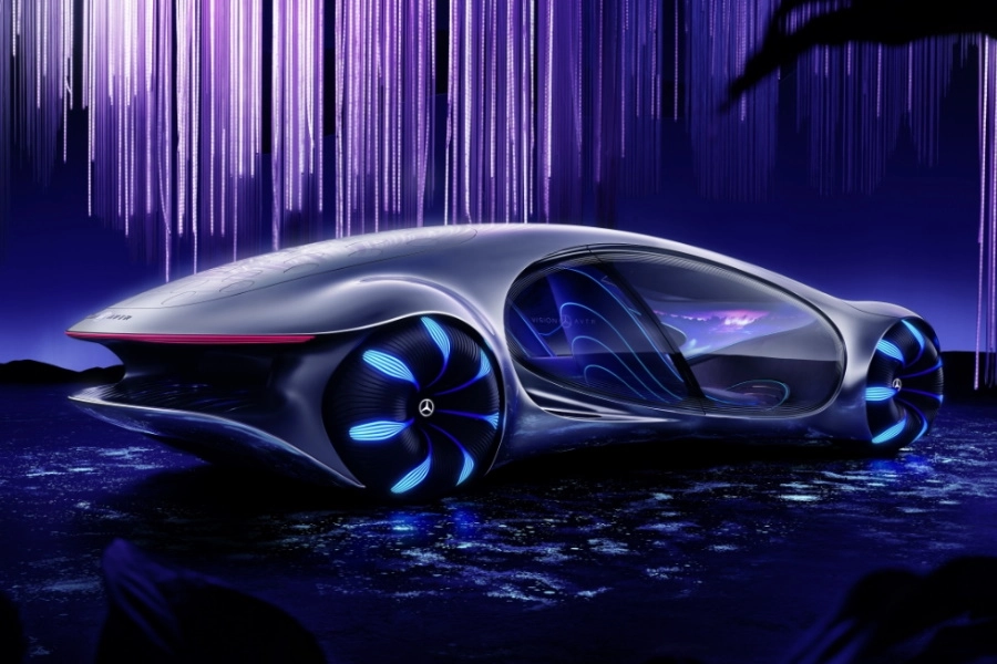 Mercedes Benz Unveils Avatar Inspired Concept At Ces 2020 Man Of Many In 2020 Mercedes Concept Future Concept Cars Concept Cars