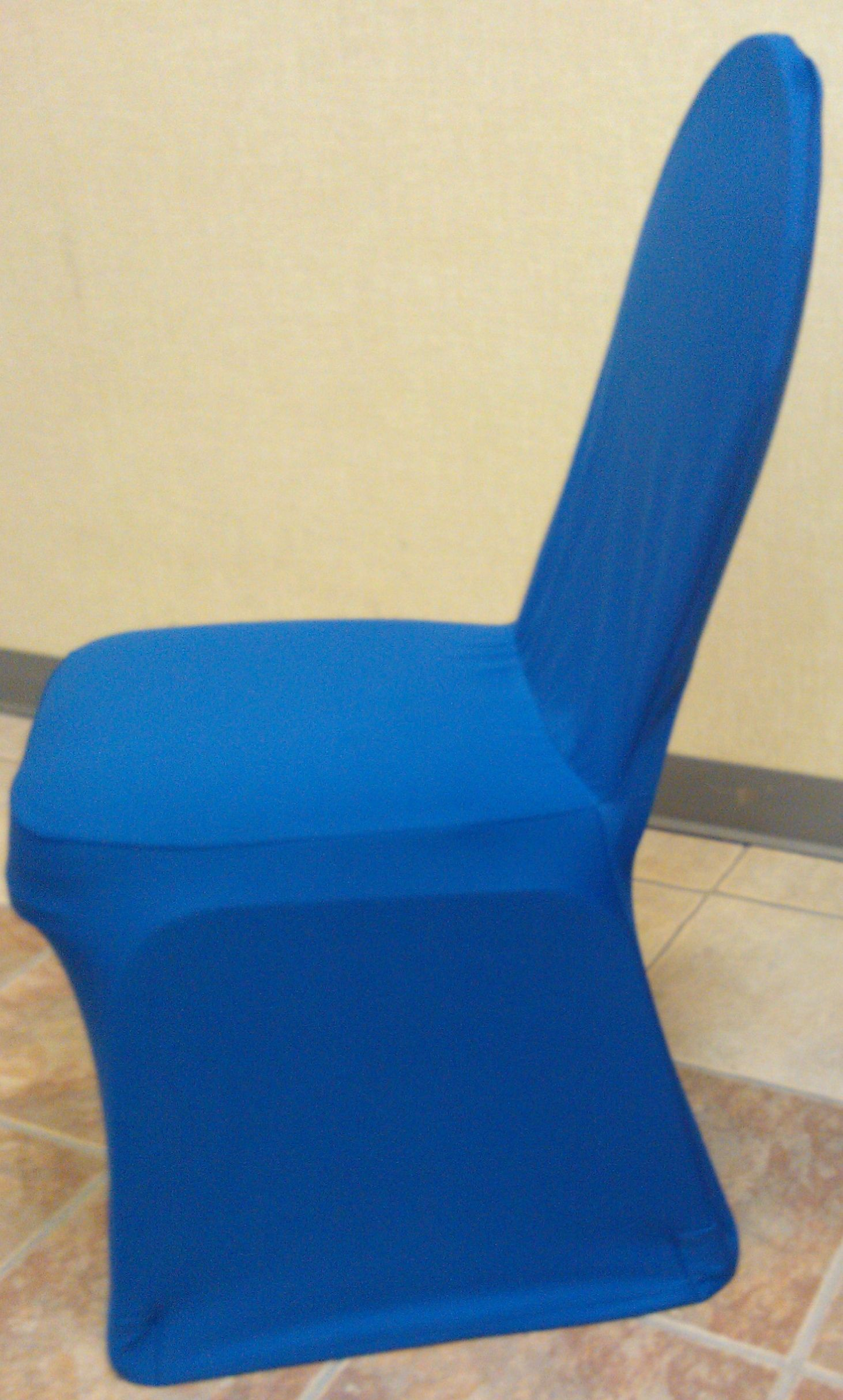Blue Folding Chair Covers Modway Articulate Office Royal Spandex Banquet Cover