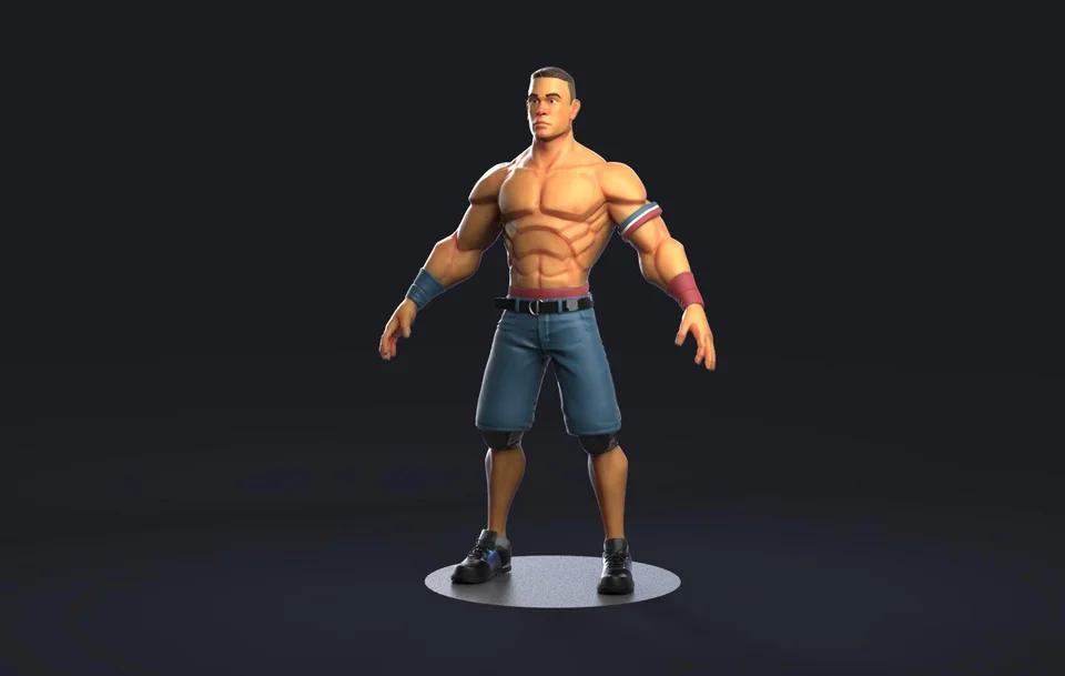 For Hire 3d 2d Artist At 15 Hr Gamedevclassifieds In 2020 John Cena John Fashion Art
