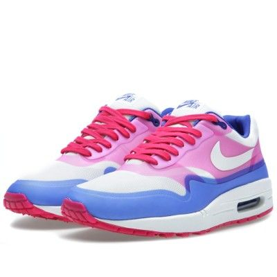 a83a3263e8 Nike Air Max 1 Hyperfuse PRM (Sail & Pink Force) | Things I like to ...