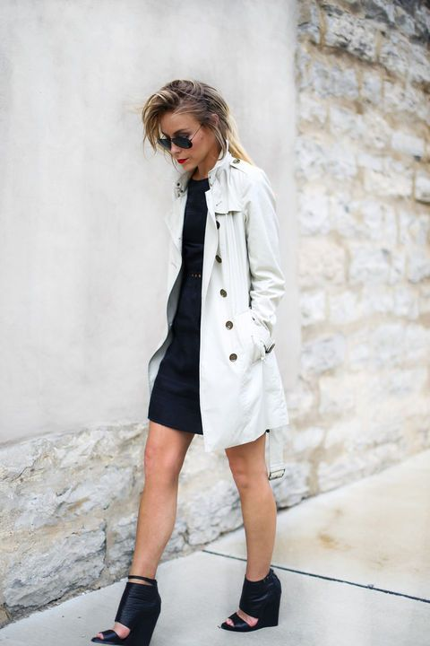 Classic trench, classic LBD.