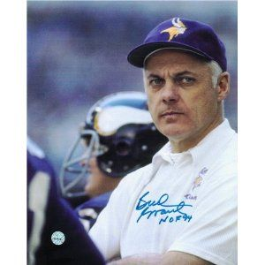 Image detail for -Bud Grant Autographed/Hand Signed Minnesota Vikings 8x10 Photo ...