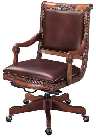 wooden leather desk chair tufted napa office decorating pinterest large furniture