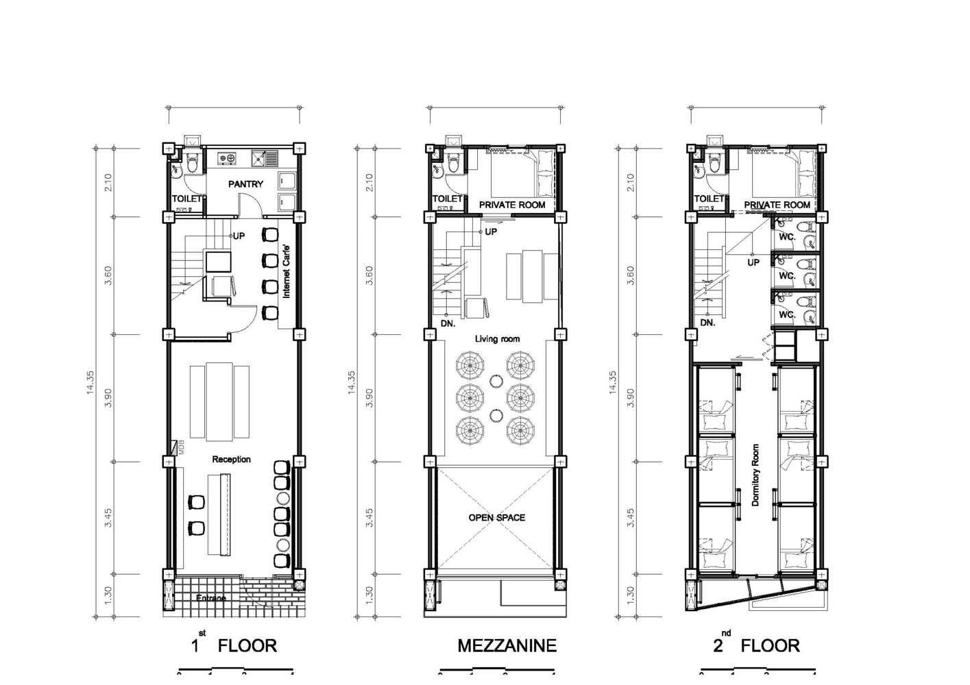 Gallery Of Ora Hostel Sea Architecture 28 Hostels Design Hotel Room Plan Hotel Floor
