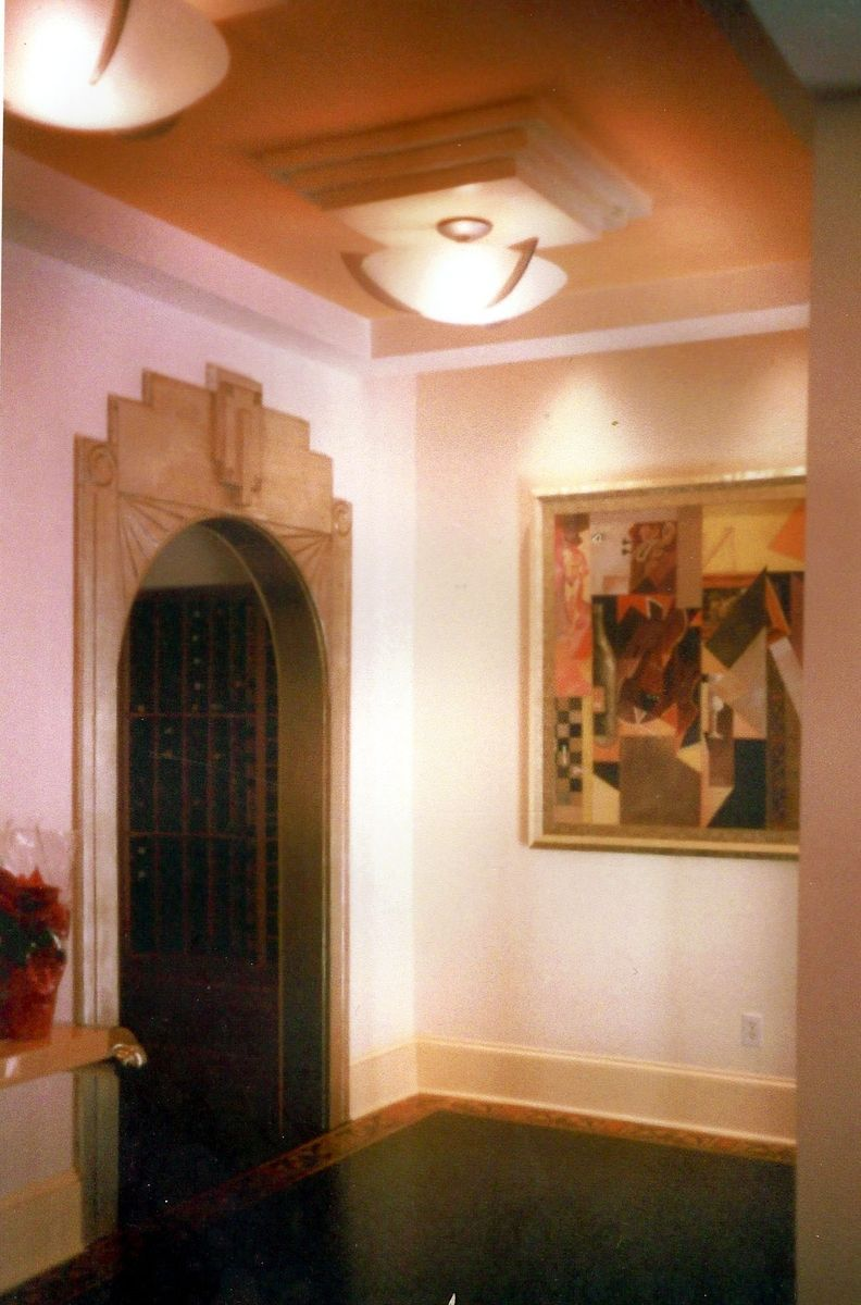 Custom Made Art Deco Door Frame | (L) Art deco furniture & style ...