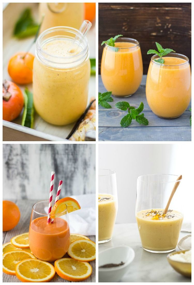 Recipe roundup: Colorful smoothies