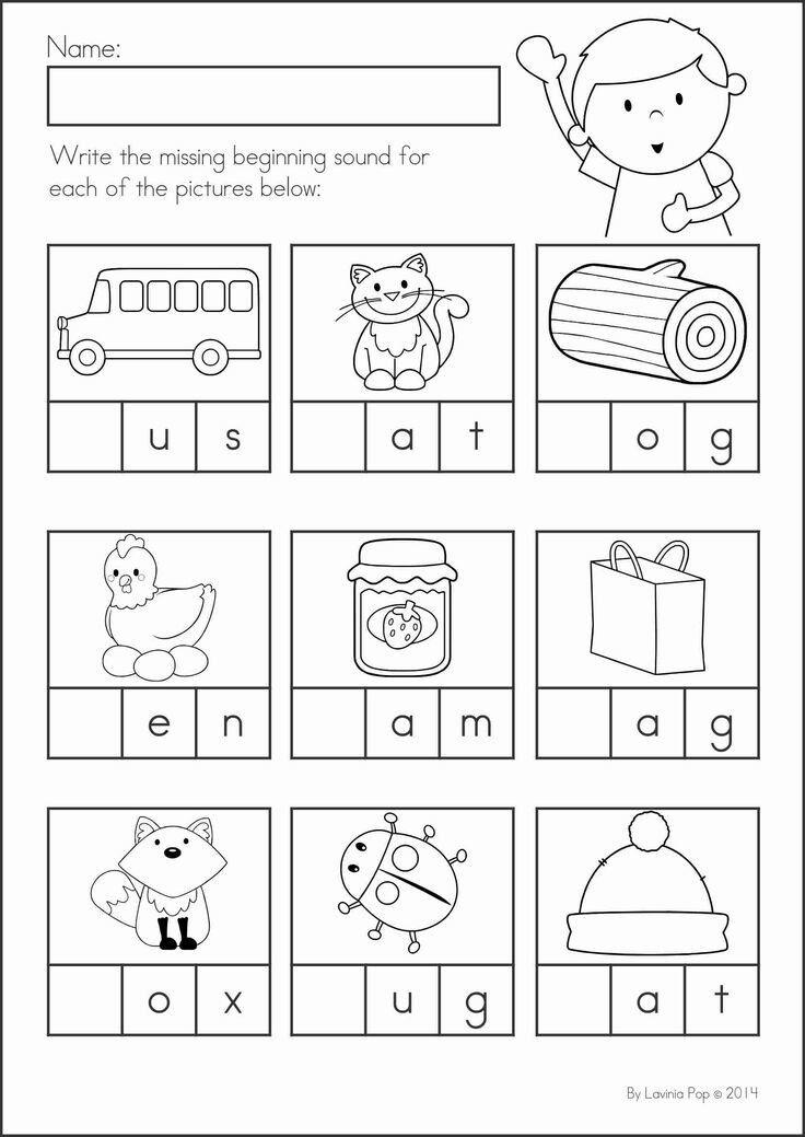 Pin by lisa on PreK | Kindergarten worksheets, Literacy ...