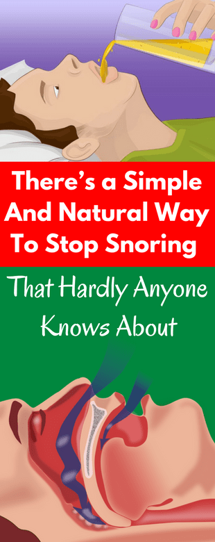 Theres A Simple & Natural Way To Stop Snoring, That Hardly Anyone Knows About!!!  #lifehacks  #fitne...