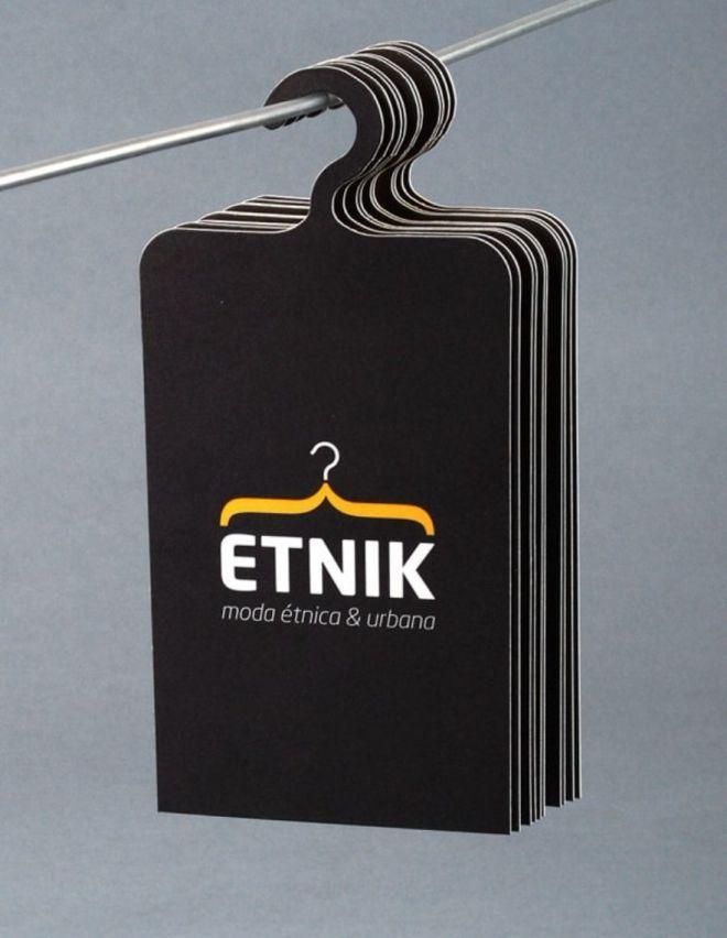 визитка магазина одежды | Творческие визитные карточки ...