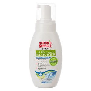 NATURE'S MIRACLE™ Allergen Blocker Foam Dog Shampoo | Shampoo & Conditioner | PetSmart