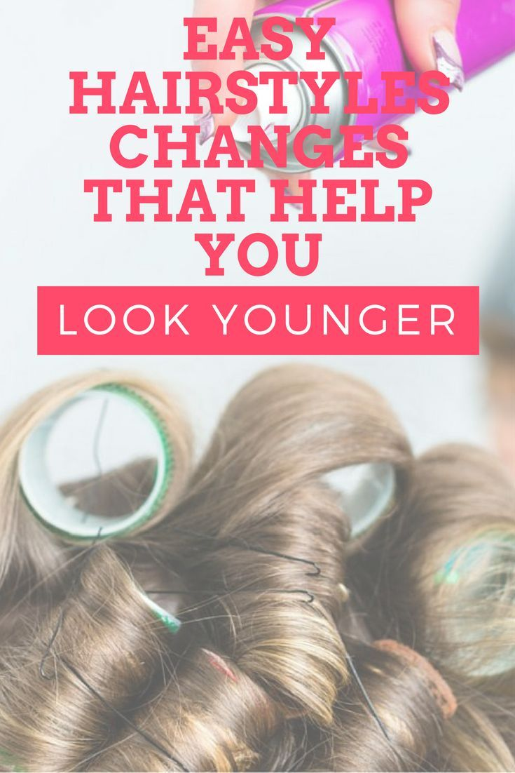 Easy hairstyle changes that can help you look younger simple