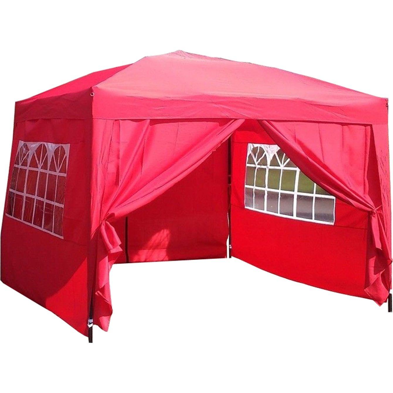 Mcombo 10x10 Ft Ez Pop Up 4 Walls Canopy Party Tent Gazebo