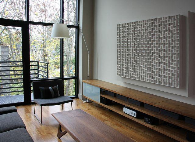 wall-panel-067-industrial-wool-felt-modern-acoustic-art | Acoustic ...
