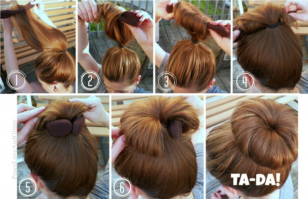 How To Get The Perfect Sock Bun Every Time Hair Pinterest