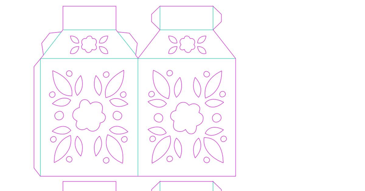 lantern template pdf  LARS lantern (5).pdf | Lanterns, Paper lanterns, Ramadan ...